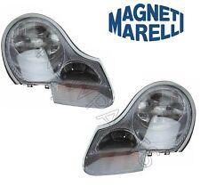 Porsche Boxster Pair Set Of 2 Headlight Assies Halogen Headlamp Magneti Marelli