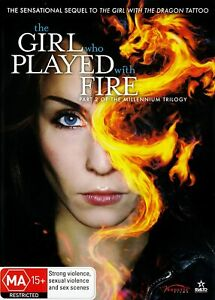 The Girl Who Played With Fire (DVD) Brand new, Factory sealed