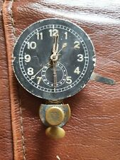 WW2 Luftwaffe Junghans Borduhr cockpit clock movement