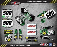 Kawasaki KX 500 1989/2004 Full Custom Graphic Kit GRAFFITI STYLE stickers decals