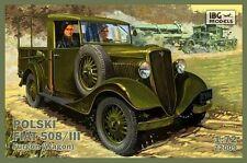 IBG 1/72 Polski Fiat 508/III carro #72009