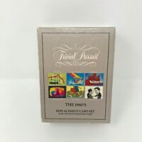 """Trivial Pursuit """"The 1980's"""" Master Game Edition Replacement Card Set"""