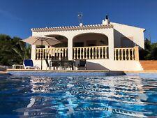 Villa in Spanien Javea Costa Blanca Pool toller Meerblick,WiFi,Klima, 6 Personen