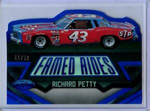 2016 Panini Certified Famed Rides MIRROR BLUE Parallel Richard Petty #11/50