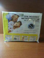 Sleep Harmony Total Encasement Mattress Protector Queen Waterproof