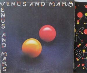 WINGS - Venus & Mars - GATEFOLD VINYL LP + INNER - PORKYS