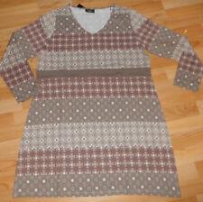 trendy Kleid 48 / 50  Shirt-Kleid , super Muster