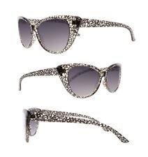 Sun Readers Grey&White Cat Eye Anti Reflective UV400 Tinted Lens Reading Glasses