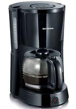 Severin KA 4491 Kaffeeautomat Glaskanne Kaffeemaschine AUTO OFF Warmplatte Black