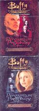 2 Buffy the Vampire Slayer Trading Card Game Starter Decks (Hero and Villain)
