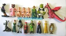 Rare Set n°16 Plastic Figures SHREK 1 (by Mulino Bianco Italian Collection)