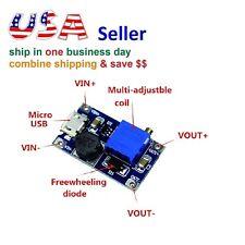 MT3608 Micro USB DC-DC Step Up Power Apply Module Booster Power Module Arduino