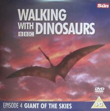 WALKING WITH DINOSAURS GIANT OF THE SKIES DISCOVERY TRICERATOPS COLLECTION DVD