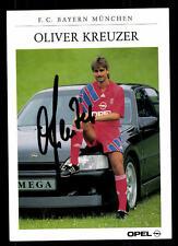 Oliver Kreuzer Autogrammkarte Bayern München 1991-92 Original Signiert + C 2324