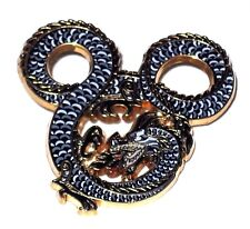 LE 500 Disney Pin✿ WDI Imagineering Cast Exclusive Breathing Dragon Mickey Icon