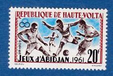 Alto Volta 1962 calcio soccer football sport MNH**og