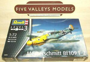 121021/12 Revell 03893 Messerschmitt BF109 F-2 1:72 Scale