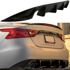 Fits For 16-17 Nissan Maxima ADD-ON Rear Bumper Diffuser Body Kit PU