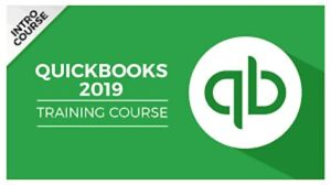 QUICKBOOKS PRO Training 2019 & 2018 Tutorial  and Digital Course with All videos