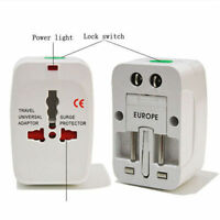 US to EU Europe and Universal AC Power Plug World Travel Adapter Converter KOYOT