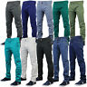 Mens Chino Jeans Jack South Kushiro City Denim Pants Slim Fit Casual Summer New