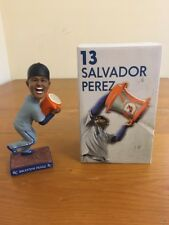 SALVADOR PEREZ #13 KANSAS CITY ROYALS BOBBLEHEAD WORLD CHAMPS NIB 9/03/2016