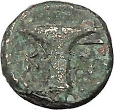 Kyme Cyme in Asia Minor 350BC  Ancient Greek Coin Eagle Vase  i46114