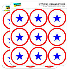 """Blue Star Flag One 1 War Mother Service 2"""" Scrapbooking Crafting Stickers"""