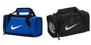 Nike Deluxe Mini Duffle Style Insulated Tote Lunch Box Black Blue 9A2591 023 U98