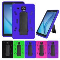"Shockproof Heavy Duty Combo Kickstand Box Case Cover For Samsung Tab E 9.6""/T560"