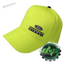 ford powerstroke saftey yellow ball cap hat headwear f250 f350 f450 diesel gear