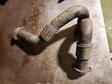 05-07 6.0 Turbo Round EGR Exhaust Up Pipe Ford Powerstroke Diesel 6.0L Downpipe