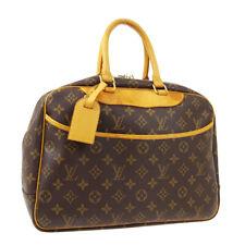 LOUIS VUITTON DEAUVILLE BUSINESS HAND BAG PURSE MONOGRAM M47270 MB0013 A50201