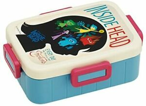 Skater 4-point lock lunch box 650ml Inside Out Disney YZFL7 From Japan