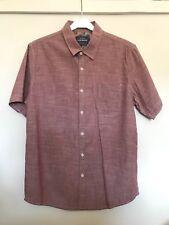 Topman dusky pink short sleeve shirt in size M -NEW