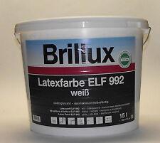 Brillux - Latexfarbe ELF 992 - 15 Liter - weiß - seidenglänzend
