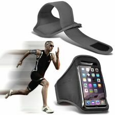 Grey✔Quality Sports Armband Gym Running Workout Belt Strap Phone Case Cover