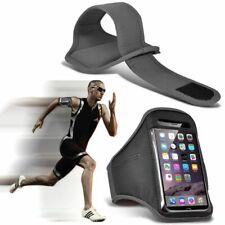 Grigio ✔ qualità Sports Fascia Da Braccio Corsa Palestra Allenamento Cintura Cinghia Telefono Case Cover
