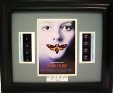 SILENCE OF THE LAMBS FRAMED FILM CELL ANTHONY HOPKINS