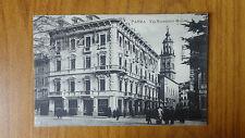CARTOLINA PARMA VIA MACEDONIO MELLONI VIAGGIATA DEL 1920 SUBALPINA