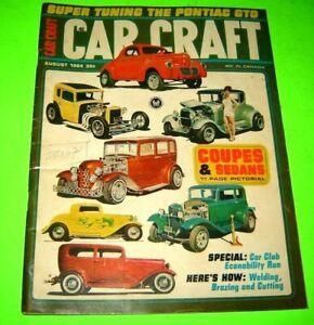 Car Craft magazine August 1964 Pontiac GTO
