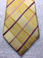 Paul Malone Krawatte Herren Gold mit 3.75 X 61 Nwot