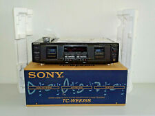 Sony tc-we835s high-end pletina de casete, ovp&neu, 2 años de garantía