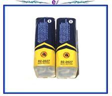 2-9V Alkaline Batteries Premium Long Lasting Exp. 02-2027 IN STOCK BRAND NEW!!