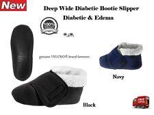 NEW SILVERTS MENS XL WIDE WIDTH SLIPPER DIABETIC EDEMA SWOLLEN FEET ADJUSTABLE