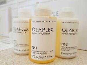 Olaplex 1 & 2 Travel Stylist Kit In Salon Treatment - 100% GENUINE PRODUCT