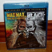 MAD MAX FURIA EN LA CARRETERA+BLACK CHROME EDICION ESPECIAL 2 BLU-RAY PRECINTADO