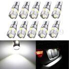 10X T10 501 194 W5W 5630 LED 6 SMD Car XENON White Wedge Tail Light Bulb Lamp