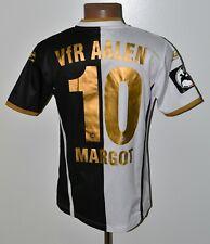 VFR AALEN GERMANY 2010'S MATCH WORN ISSUE FOOTBALL SHIRT SALLER #10 MARGOT