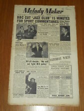 MELODY MAKER 1951 #920 MAY 5 JAZZ SWING GERALDO LESLIE BAKER ANNE SHELTON